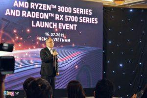 AMD RA MẮT DÒNG CARD RX 5700 VÀ CHIP RYZEN ĐỜI 3 Ở VN, CHUYÊN GAMING